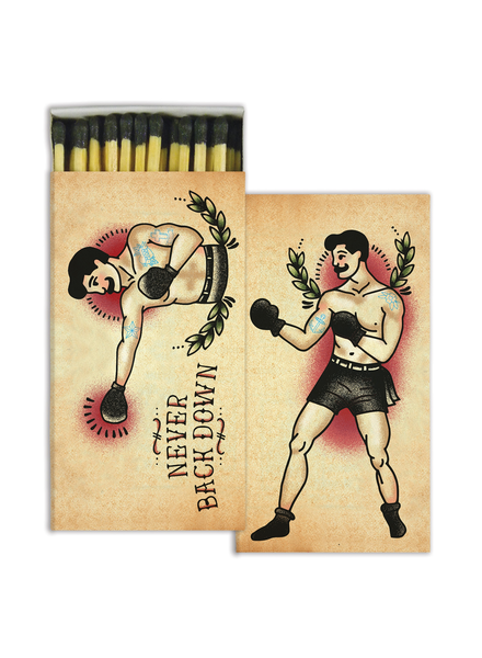 HomArt Boxer HomArt Matches - Set of 3