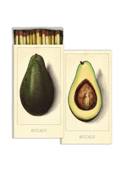 HomArt Avocados HomArt Matches - Set of 3