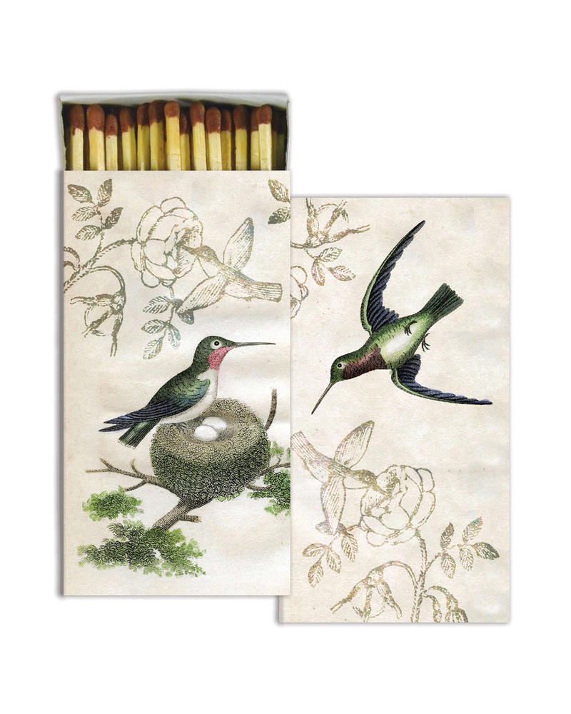 HomArt Hummingbirds HomArt Matches - Set of 3