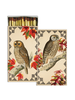 HomArt Autumn Owls HomArt Matches - Set of 3