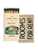 HomArt Rooms for Rent HomArt Matches - Set of 3