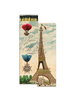 HomArt Eiffel Tower HomArt Matches - Set of 2