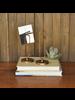 HomArt Paperclip Letter Holder, Brass