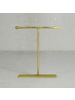 HomArt Maddox Forged Iron Jewelry T Stand - Med 8 - Brass