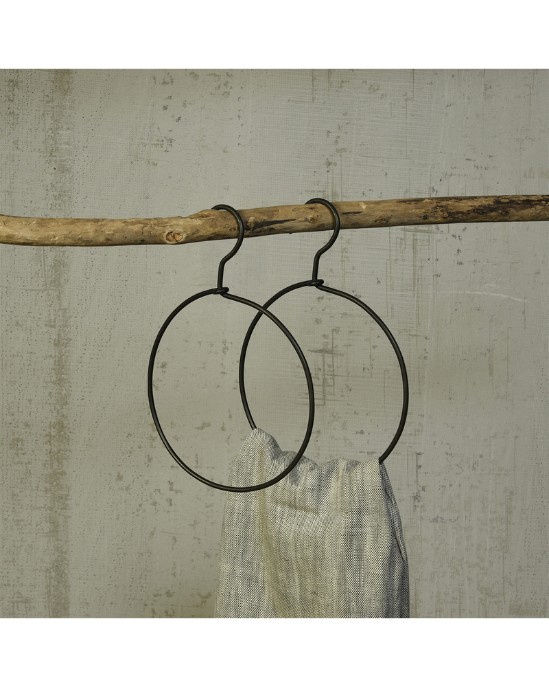 HomArt Hanger - Round - Black