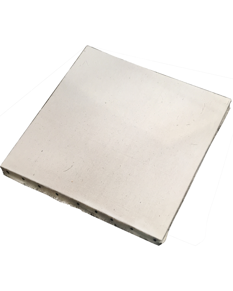HomArt Canvas Wrapped Board - Large Square - White