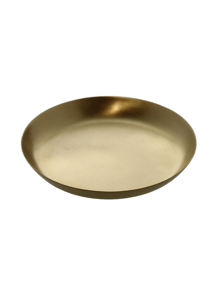 HomArt Satin Tray - Sm - Brushed Brass