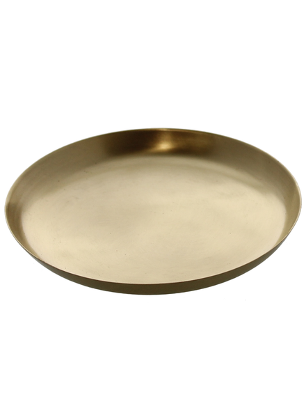 HomArt Satin Tray - Lrg - Brushed Brass