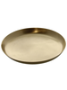 HomArt Satin Tray - Lrg - Brushed Brass