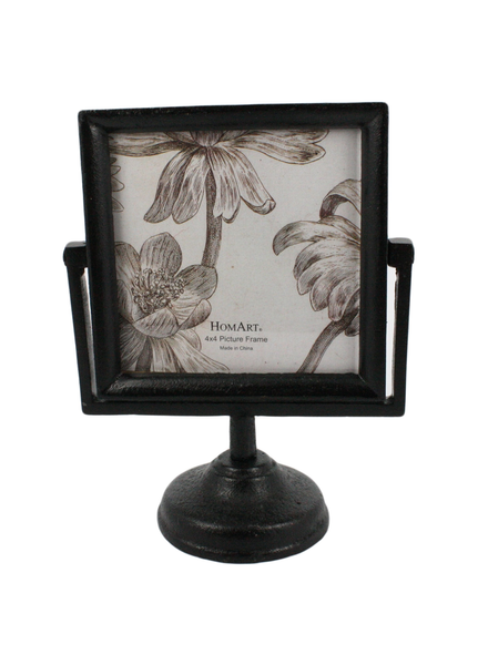 HomArt Heirloom Picture Frame 4x4 - Black