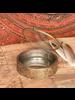 HomArt Josephine Mirrored Box, Brass - Lrg Round