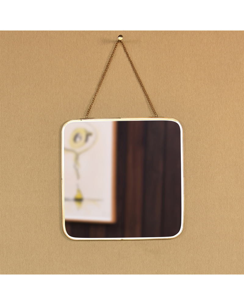 HomArt Estelle Mirror, Brass - Square