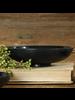 HomArt Dexter Soapstone Bowl - Lrg - Black