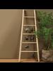 HomArt Decorative Wood Ladder - Natural