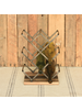 HomArt Jennings Wine Rack with Recycled Wood