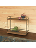 HomArt Miles Two-Tier Stand, Wood