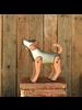 HomArt Dog Assemblage, Wood & Metal