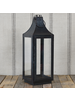 HomArt Cole Metal Lantern - Sm - Black Waxed