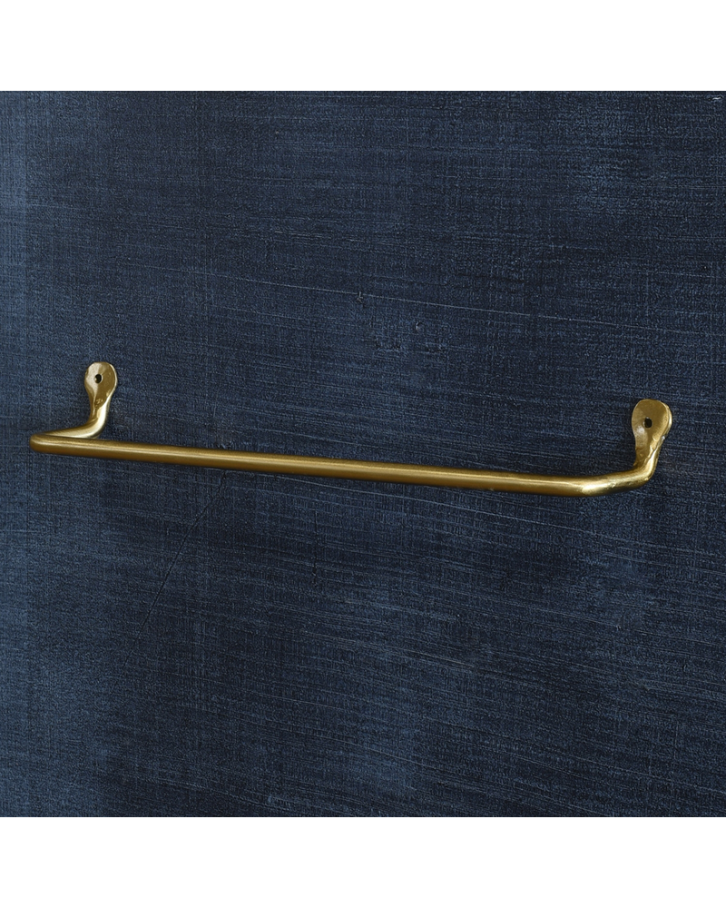 HomArt Bijou Wall Bar - 16 in - Brass
