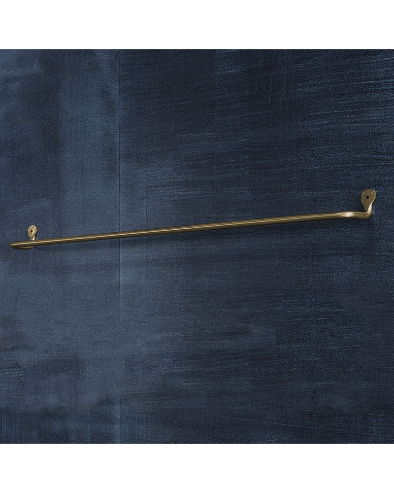 HomArt Bijou Wall Bar - 32 in - Brass