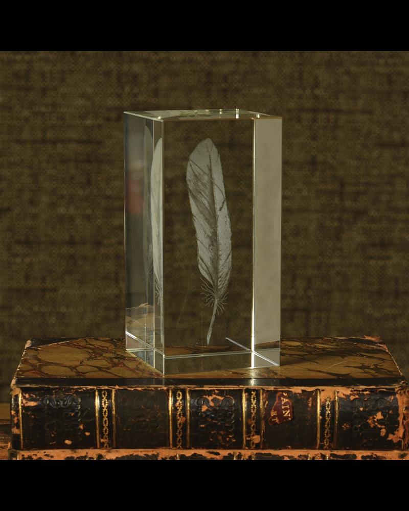 HomArt Glass Hologram - Feather