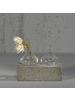 HomArt Gwen Vase, Glass - Squat