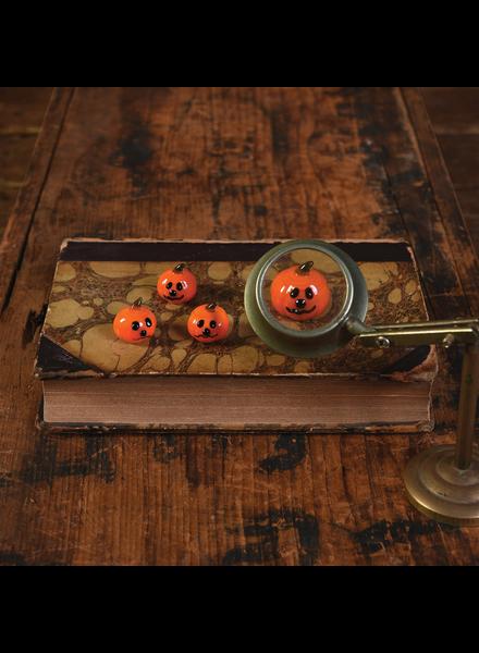 HomArt Tiny Glass Pumpkin - Set of 12