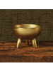 HomArt Naomi Taper / Incense Holder, Brass - Antique Brass