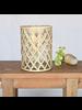 HomArt Cane Weave Vase - Lrg