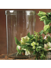 HomArt Banded Cylinder 9x12 in - Clear