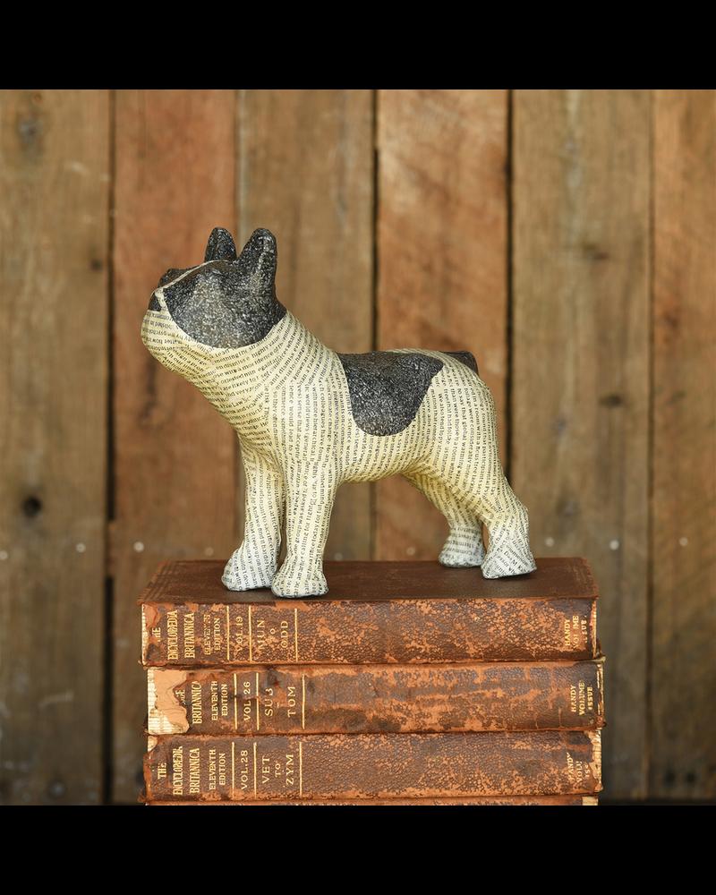 HomArt Boston Terrier, Paper Print