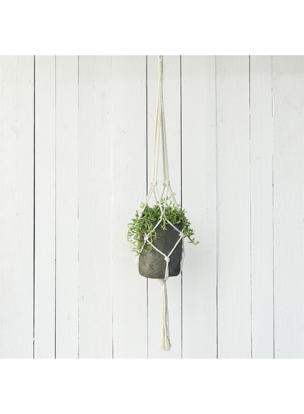 HomArt Macrame Hanger - Natural Cotton