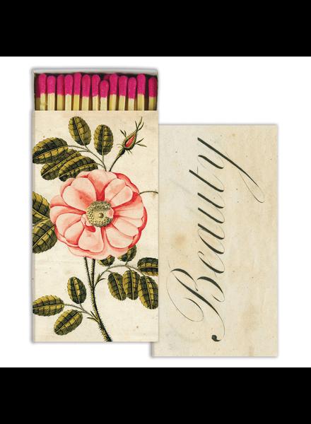 HomArt La Rose & Beauty HomArt Matches - Set of 3