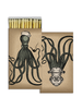HomArt Octopus HomArt Matches - Set of 3