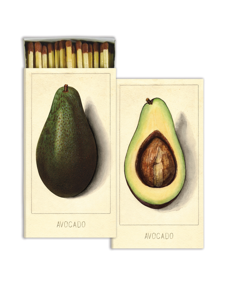 HomArt Avocados HomArt Matches - Set of 3