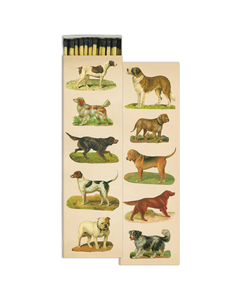 HomArt Dog Collage HomArt Matches - Set of 2