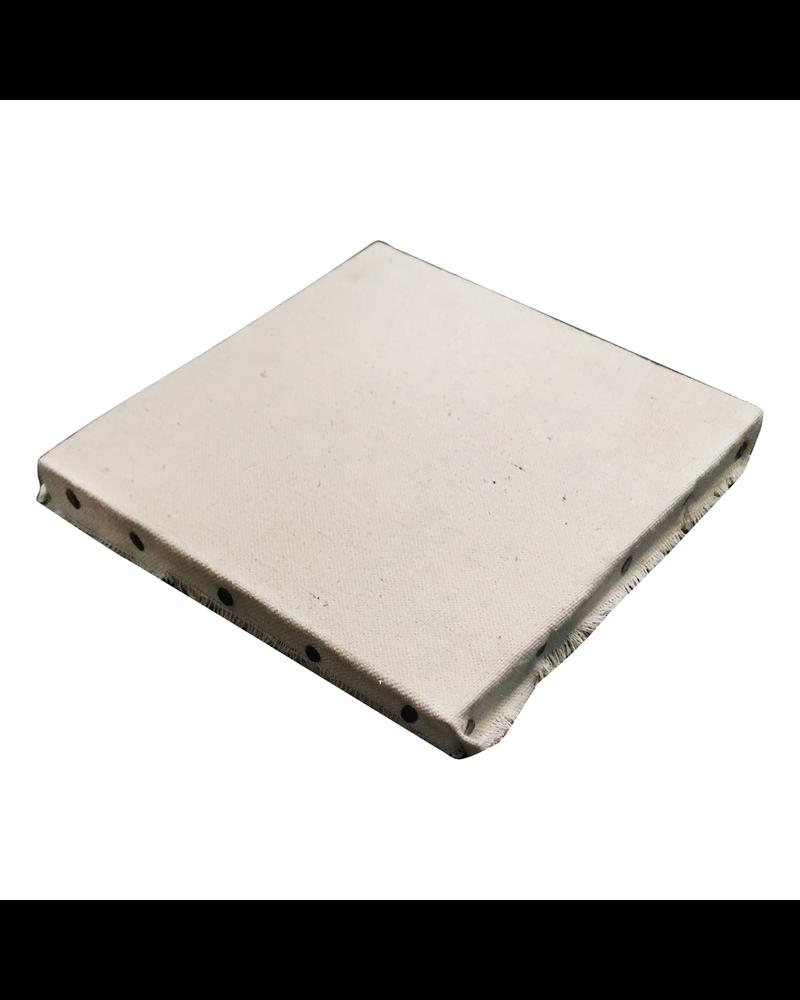 HomArt Canvas Wrapped Board - Small Square - White