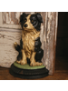 HomArt Cecil the Dog Doorstop - Cast Iron - Natural