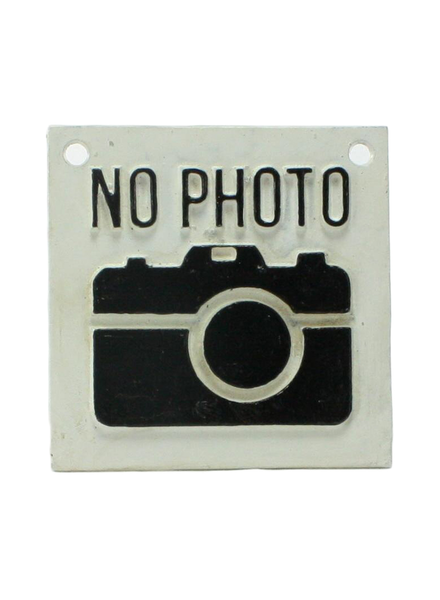 HomArt Cast Iron Sign - No Photo Logo