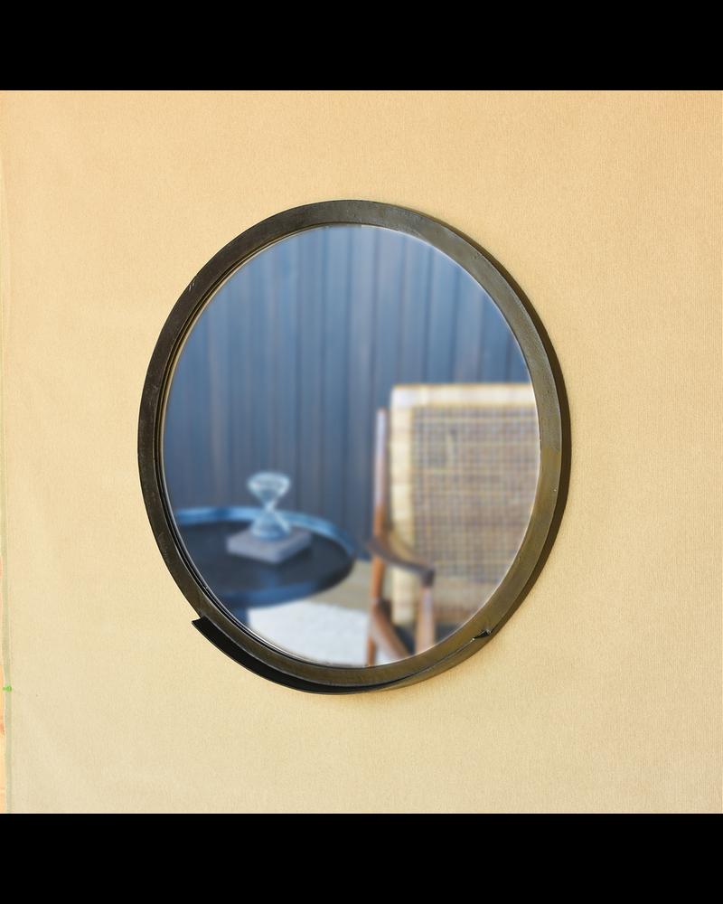HomArt Ansel Mirror with Ledge, Bronze