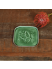HomArt Green Tilda Enamel Coaster - Set of 2