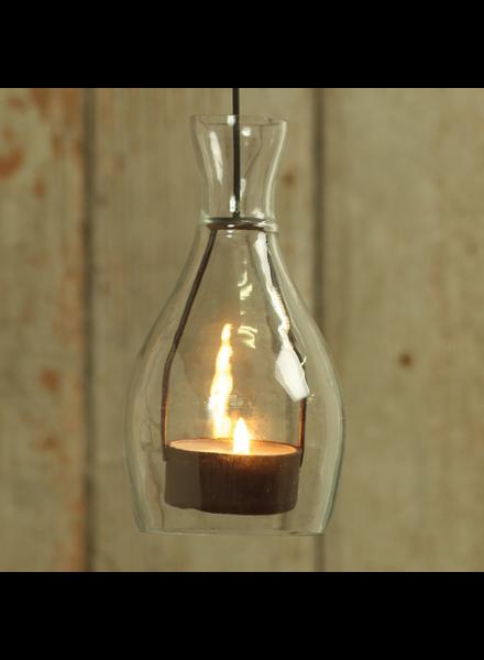 HomArt Bottle Tealight Holder - Clear