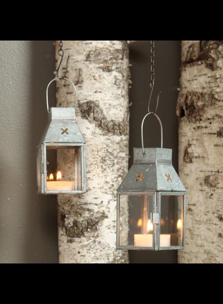 HomArt Tiny Tin Lantern - Plain - Natural