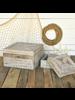 HomArt Harborton Boxes, Wood - Set of 2