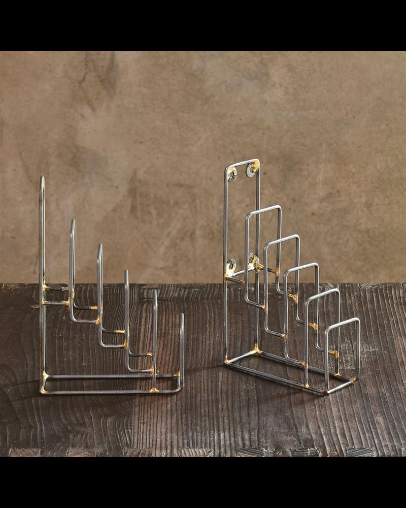 HomArt Tiered Metal Display Stand - Set of 2