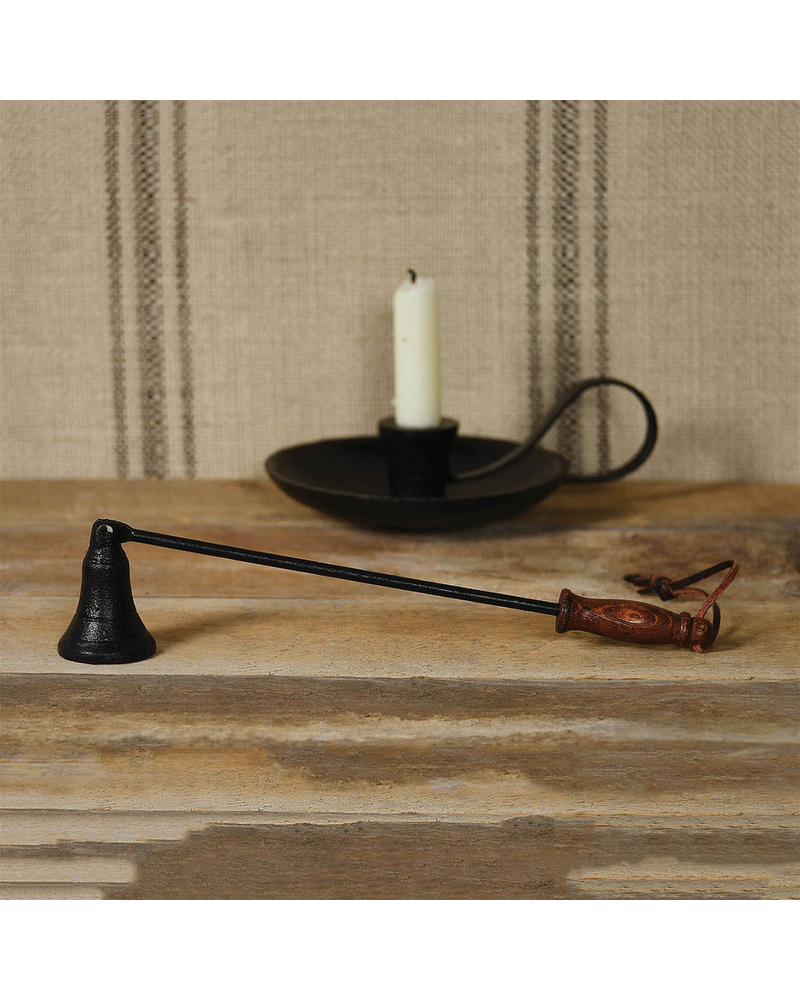 HomArt Iron and Wood Candle Snuffer - Black