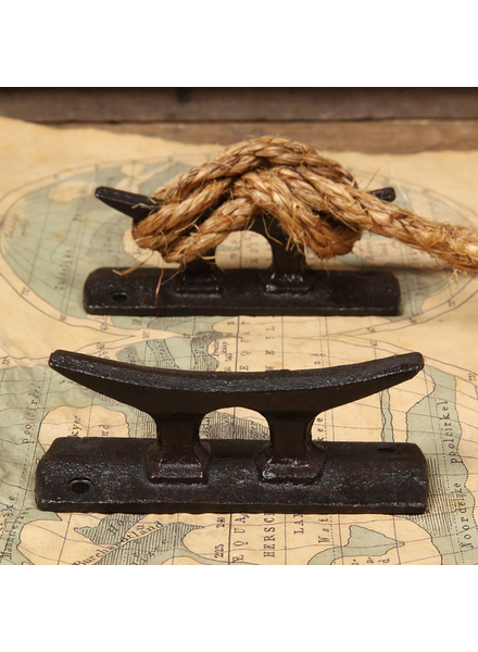 HomArt Market Cast Iron Cleat - Antique Black - Set of 2