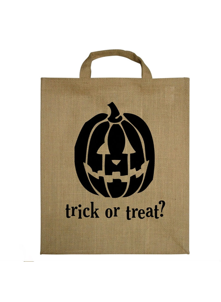 HomArt Pumpkin Trick-Or-Treat Tote