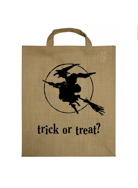 HomArt Witch Trick-Or-Treat Tote