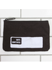HomArt Black Canvas Zipper Bag with Logo - Coin - Set of 4